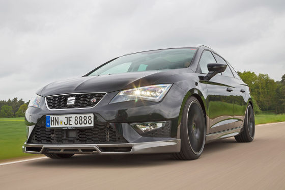 tuning je design seat leon st fr 2 0 tdi kurztest. Black Bedroom Furniture Sets. Home Design Ideas
