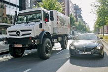 City-Tour im Unimog