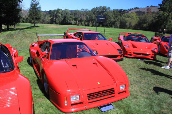 Ferrari-Treffen: Showtime in Pebble Beach