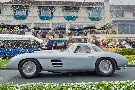 Klassiker-Treffen: Pebble Beach 2014