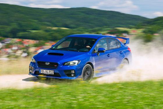 Subaru WRX STi Detail
