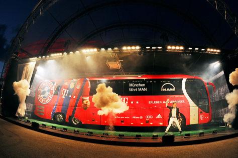 Neuer Bus für Bayern München