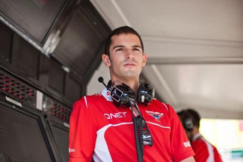 Alexander Rossi springt in Belgien für Max Chilton beim Marussia-Rennstall ein