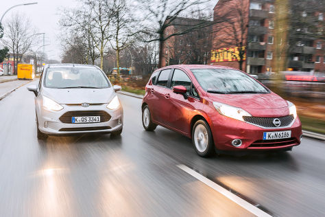 Ford B-Max Nissan Note