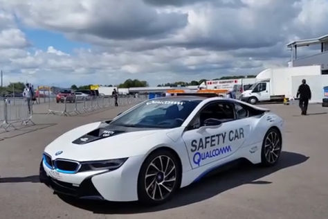 BMW i8 als Safety Car der Formula E