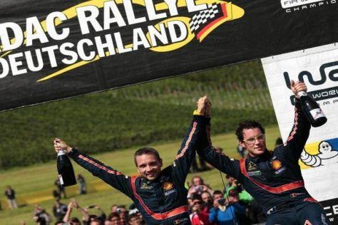 Thierry Neuville triumphiert bei der Rallye Deutschland