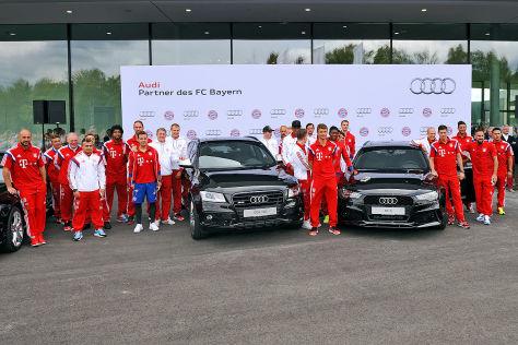 Neue Audis für FC Bayern München