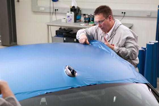 Folie als zweite Haut fürs Auto