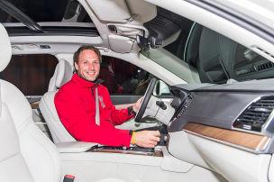 So sitzt es sich im neuen Volvo XC90