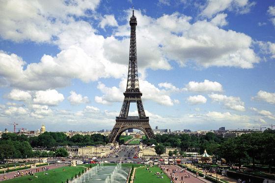 Pendeln Sie nach Paris