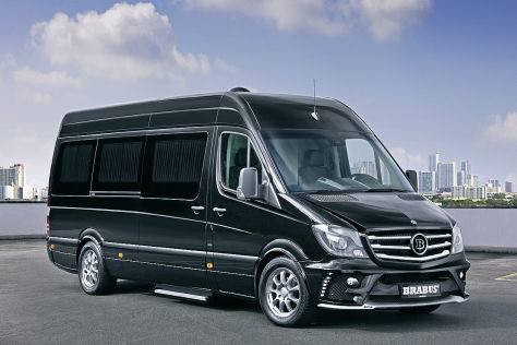 Brabus Business Lounge auf Basis des Mercedes Sprinters