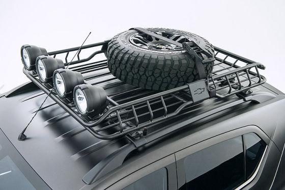Chevrolet Niva Concept Ersatzreifen