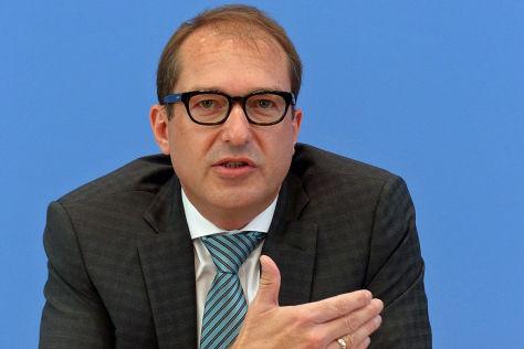 Maut-Pläne von Verkehrsminister Dobrindt