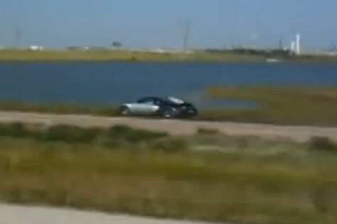Bugatti-Crash in Texas 2009