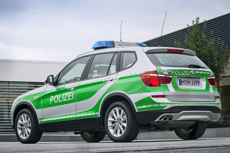 BMW X5 SEcurity Plus mit Einschusslöchern