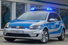 Neue Autos f�r die Polizei