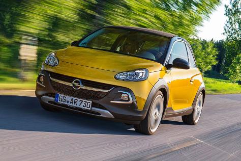 Opel Adam Rocks: Fahrbericht