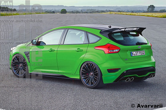 Ford Focus RS Entwurf