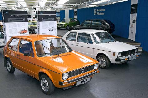 """Ausstellung """"40 Jahre VW Golf"""""""