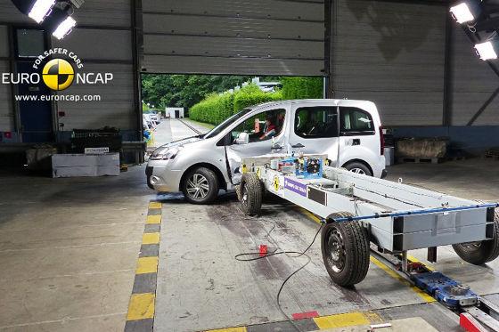 Citroën Berlingo Euro NCAP Crashtest: September 2014