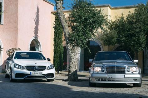 Mercedes AMG-Vergleich: E 60 gegen E 63