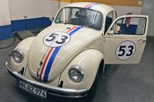 Unser K�fer im Herbie-Look