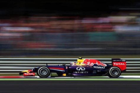 Pfeilschnell: Daniel Ricciardos Speed-Geheimnis war die Parabolica