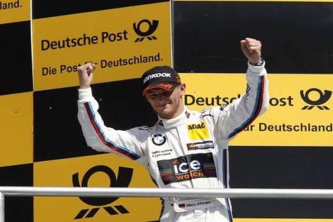 Marco Wittmann steht unmittelbar vor dem Gewinn der DTM-Gesamtwertung 2014