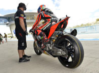 Aprilia pr�sentiert die MotoGP-Comeback-Strategie