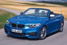 Das kostet das BMW 2er Cabrio