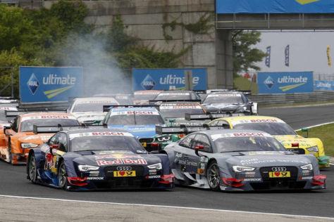 Die Audi-Flotte rückt am Lausitzring aus, um endlich den ersten Saisonsieg zu holen