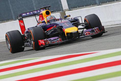 Sebastian Vettel lässt nichts unversucht, um wieder Rennen zu gewinnen