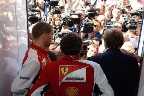 Luca di Montezemolo wird sich wie in Monza kritischen Fragen stellen müssen