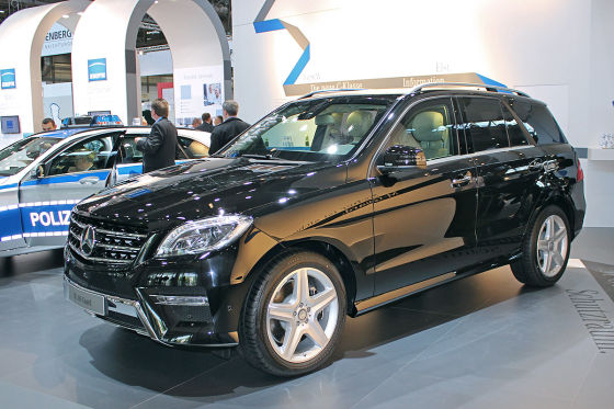 Mercedes ML 500 Guard