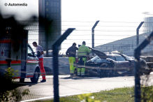 B�ser Koenigsegg-Crash auf dem Ring