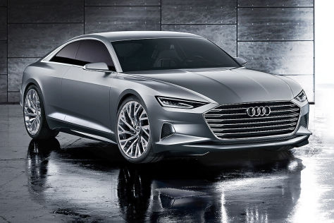 Audi A9 Coupé Illustration