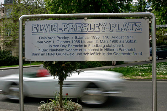 BMW restauriert Elvis Presleys BMW 507