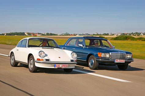 190 Sl vs. Porsche 256 B