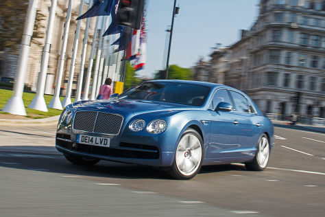 Bentley Flying Spur V8 (2014): Neuvorstellung
