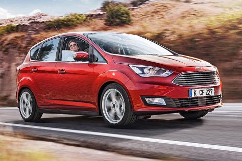 Ford C-Max Facelift: Paris 2014