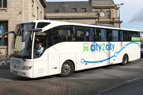 Fernbusmarkt: City2City stellt Betrieb ein