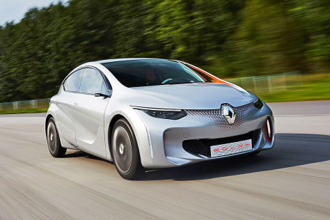 Renault Eolab: Autosalon Paris 2014