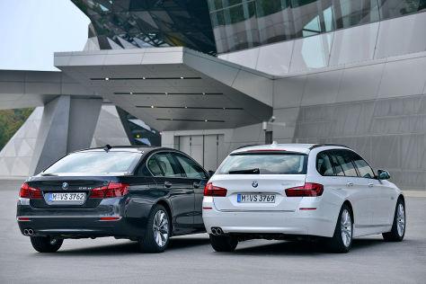 Neue Motoren für BMW 520d / 518d: Fahrbericht