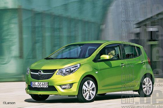 Opels Kleinster kommt als Karl