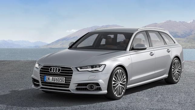 video audi a6 facelift 2015 autobildde