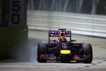 Technik-Teufel schl�gt bei Vettel zu