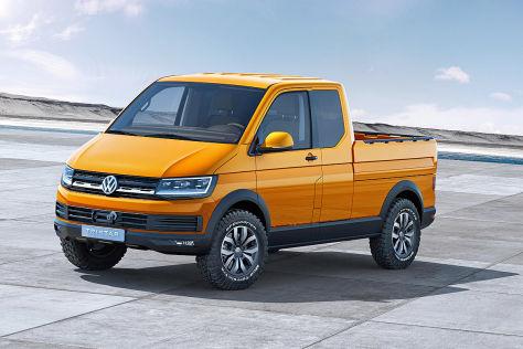 VW Tristar Concept: Weltpremiere auf der IAA Nutzfahrzeuge 2014
