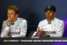 Mercedes-Stars trennen drei Punkte
