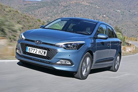 Hyundai i20 (2014): Sitzprobe