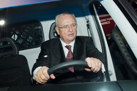 VW-Chef auf der IAA Nutzfahrzeuge 2014